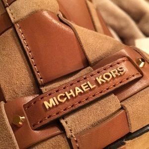 Michael Kors Bags - Mkors authentic suede with leather bag